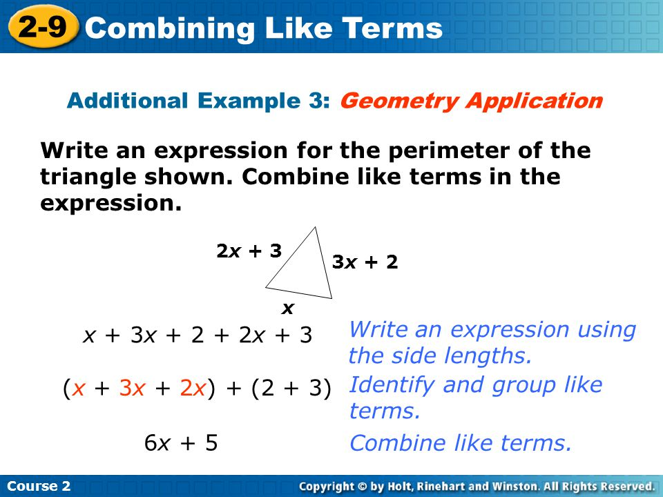Additional Example 3: Geometry Application