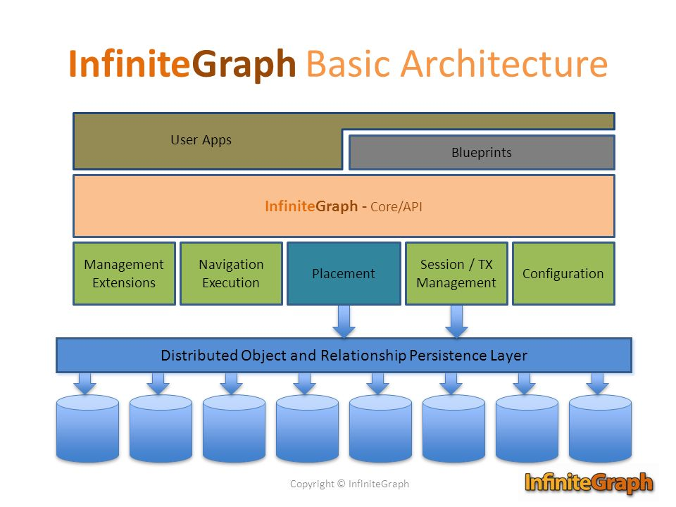InfiniteGraph Basic Architecture