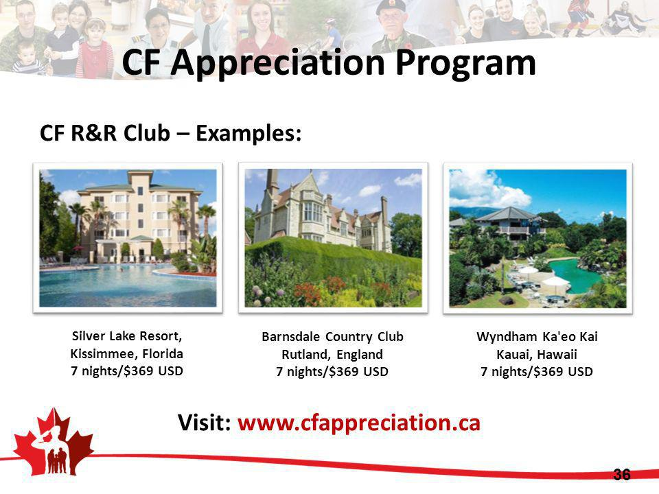 CF Appreciation Program