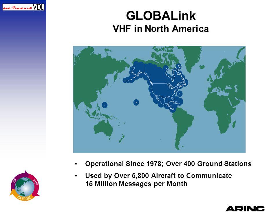 GLOBALink VHF in North America
