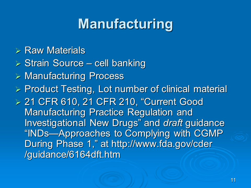 Manufacturing Raw Materials Strain Source – cell banking