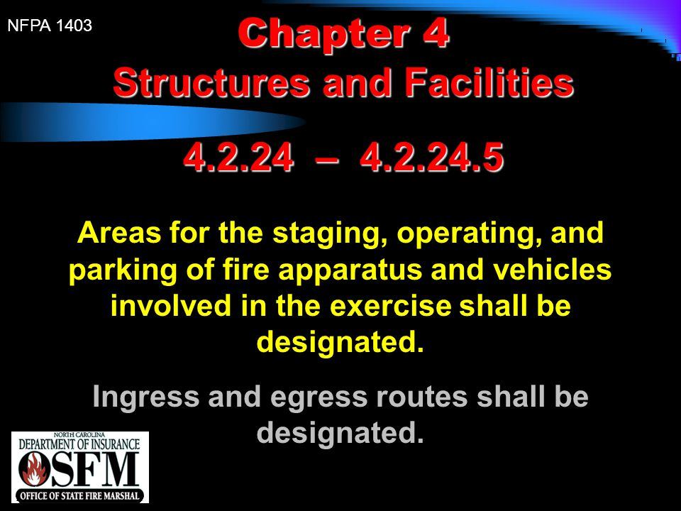 Structures and Facilities 4.2.24 – 4.2.24.5