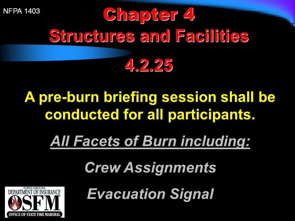 Structures and Facilities 4.2.25