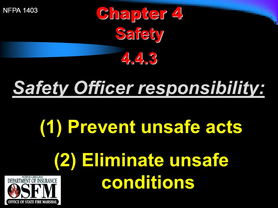 Eliminate unsafe conditions