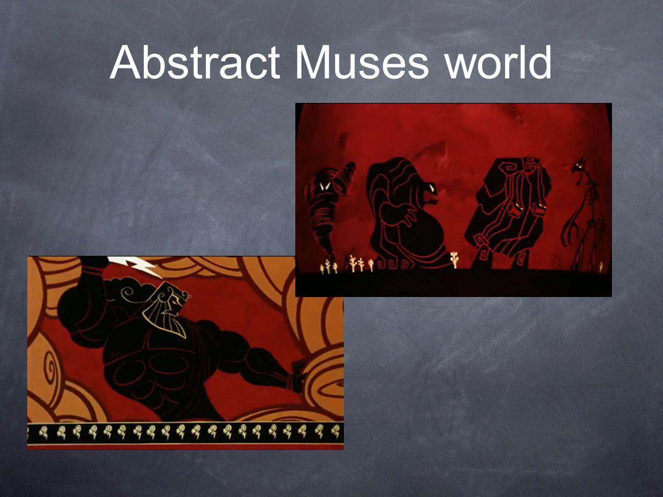 Abstract Muses world