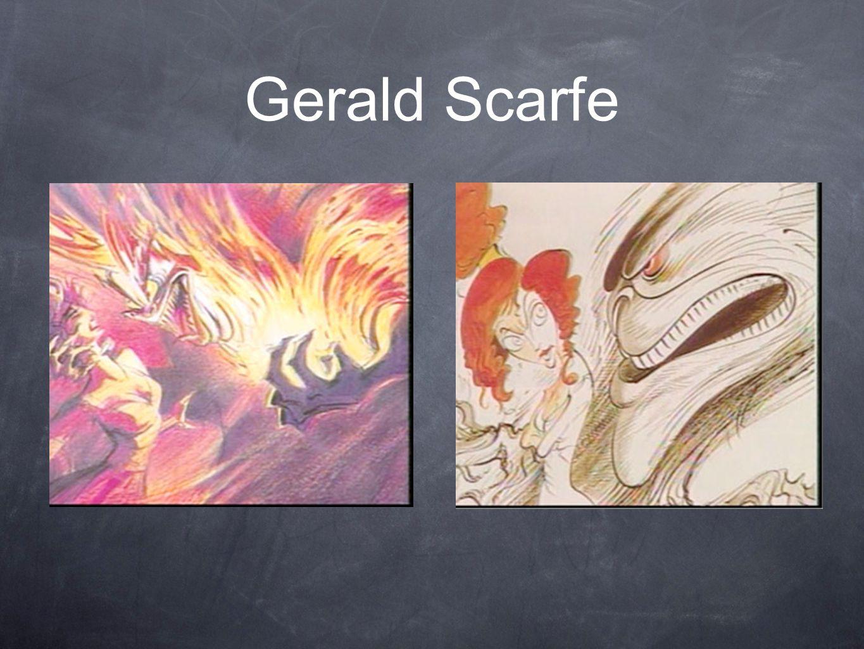 Gerald Scarfe