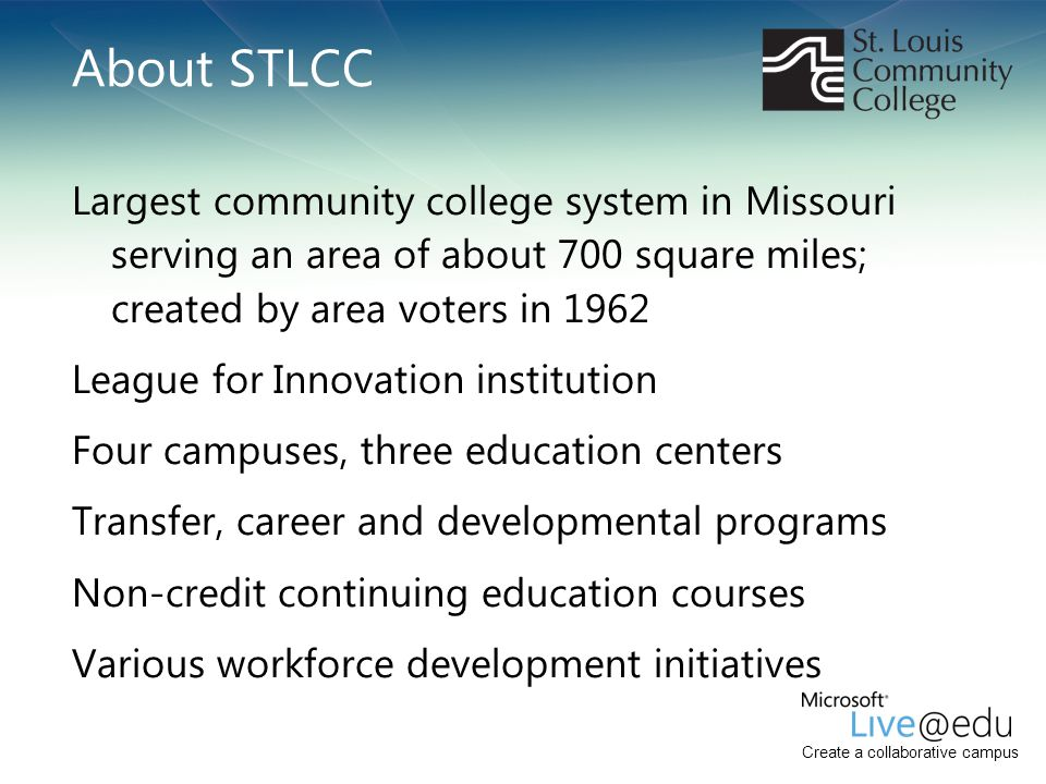 About STLCC