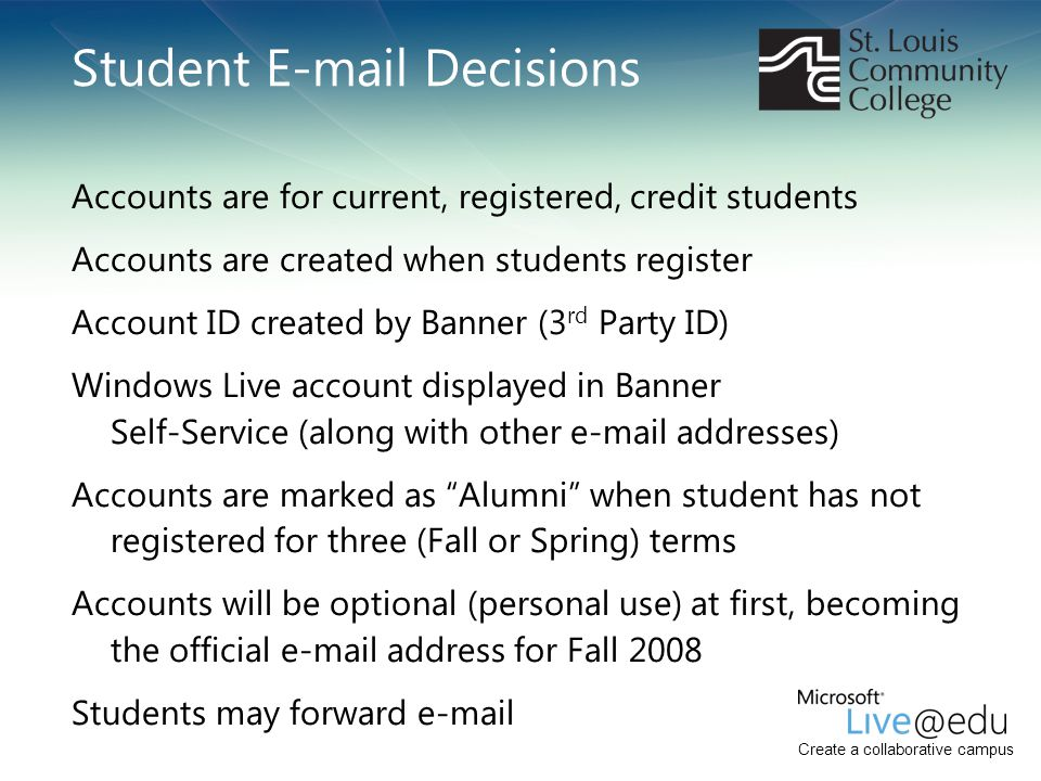 Student E-mail Decisions