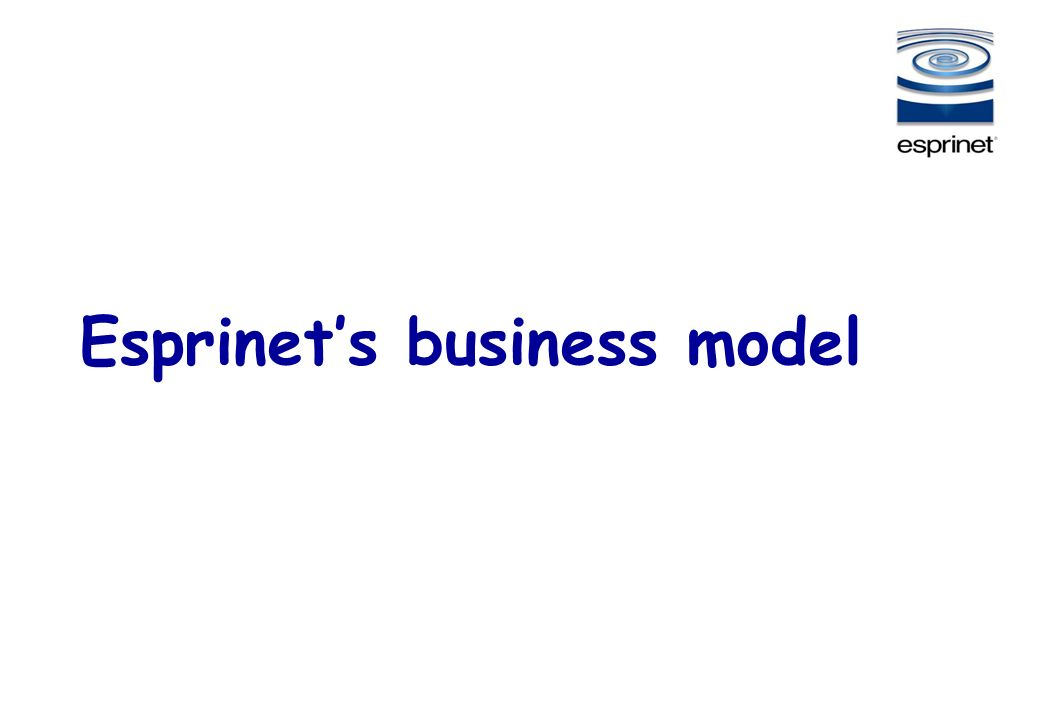 Esprinet's business model