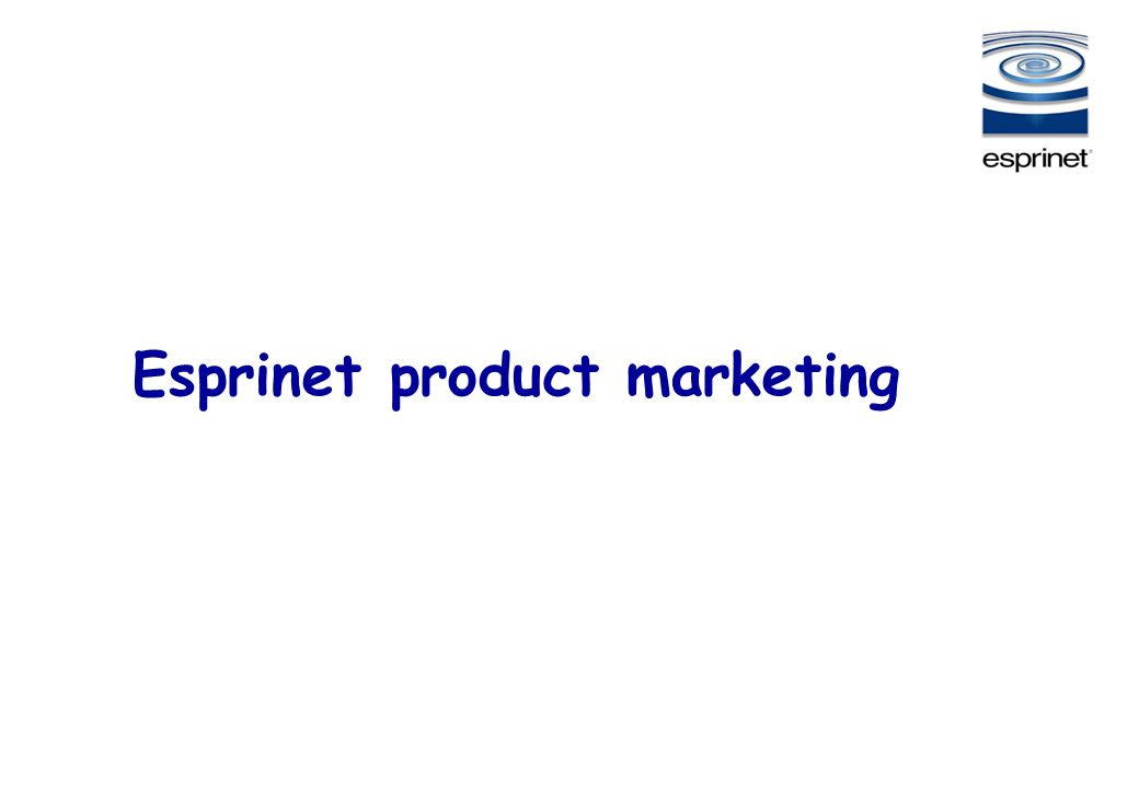 Esprinet product marketing