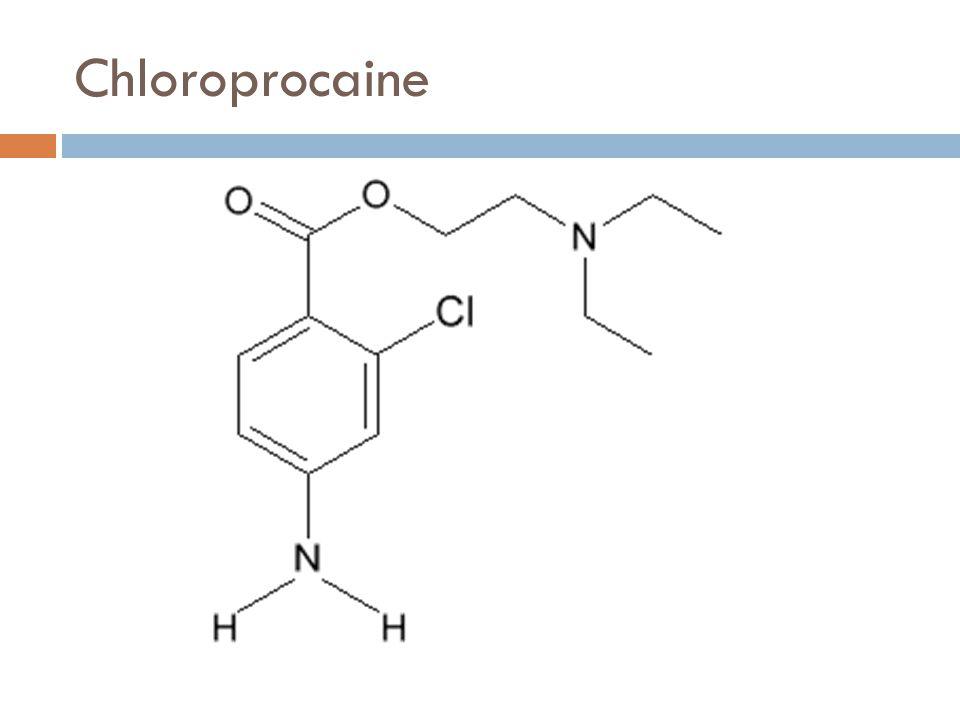 Chloroprocaine