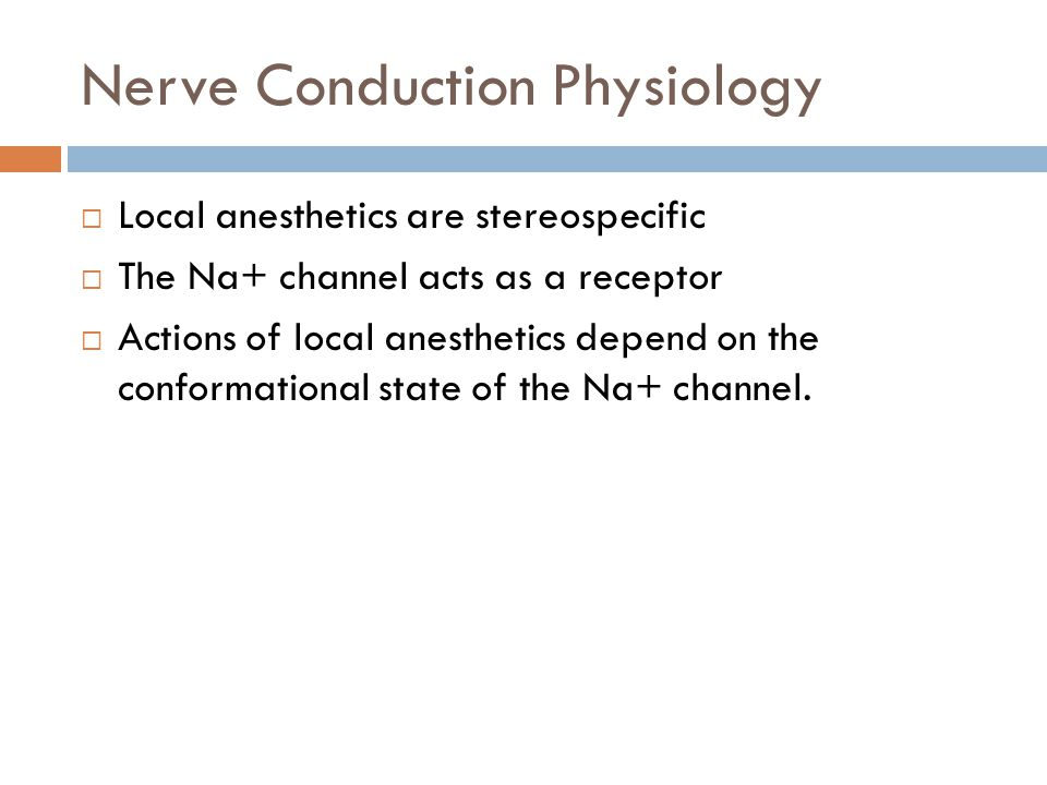 Nerve Conduction Physiology