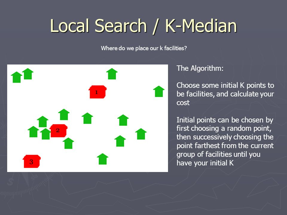 Local Search / K-Median