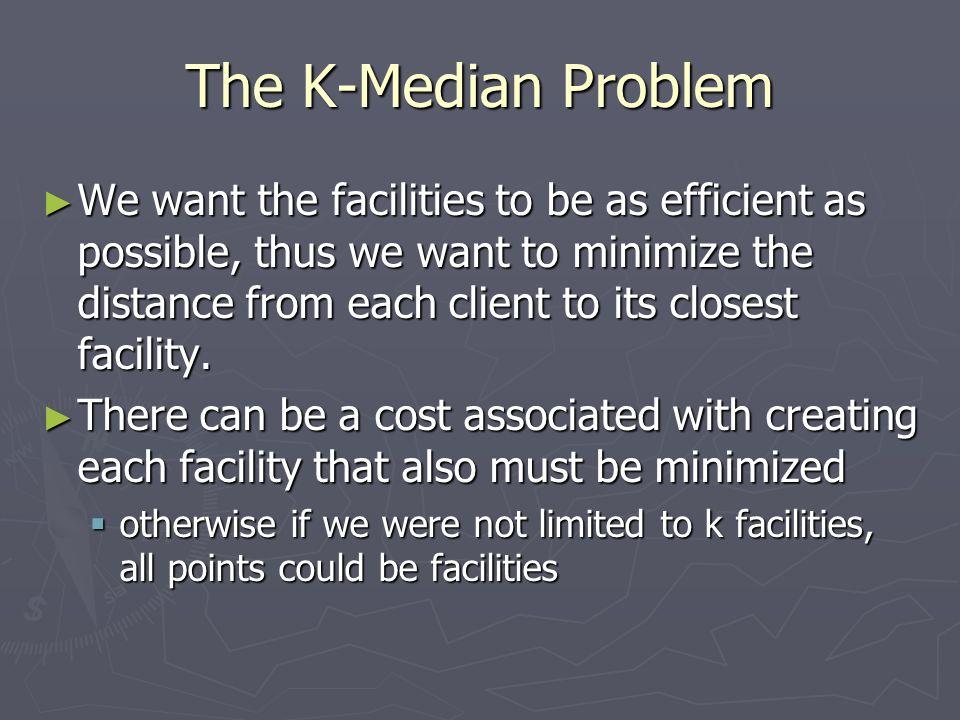 The K-Median Problem