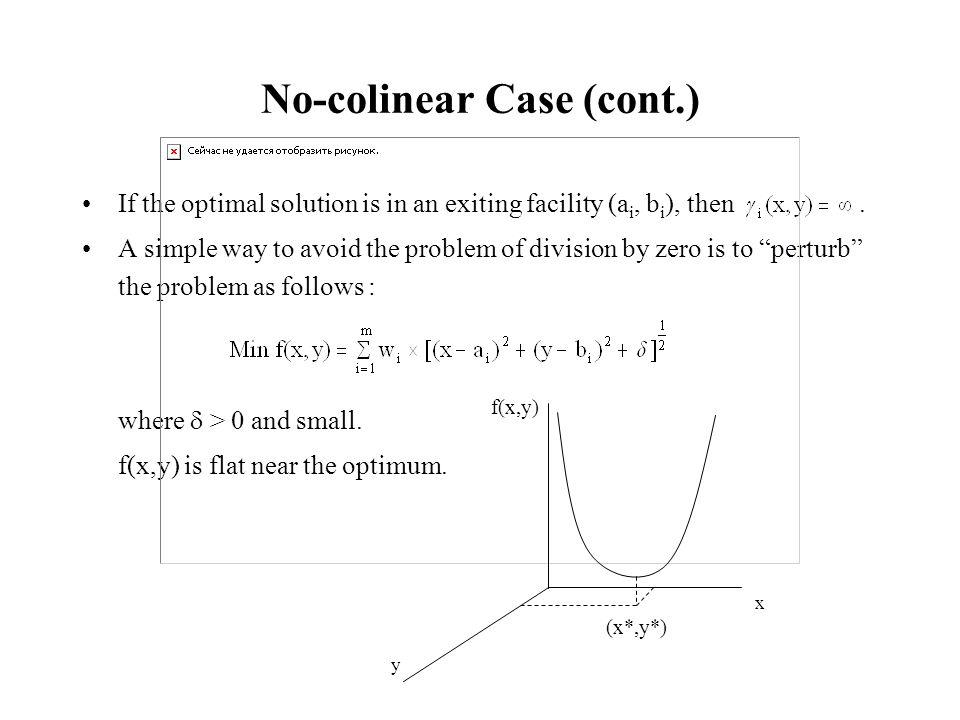 No-colinear Case (cont.)