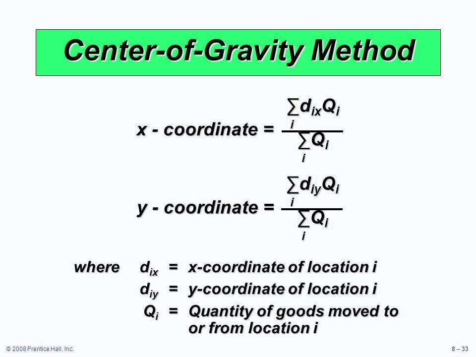 Center-of-Gravity Method