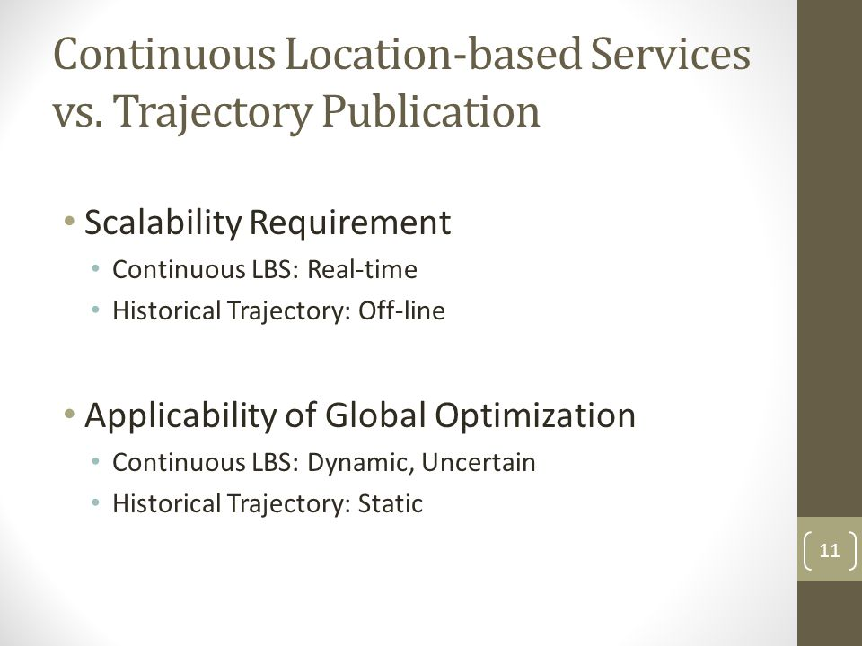 Continuous Location-based Services vs. Trajectory Publication