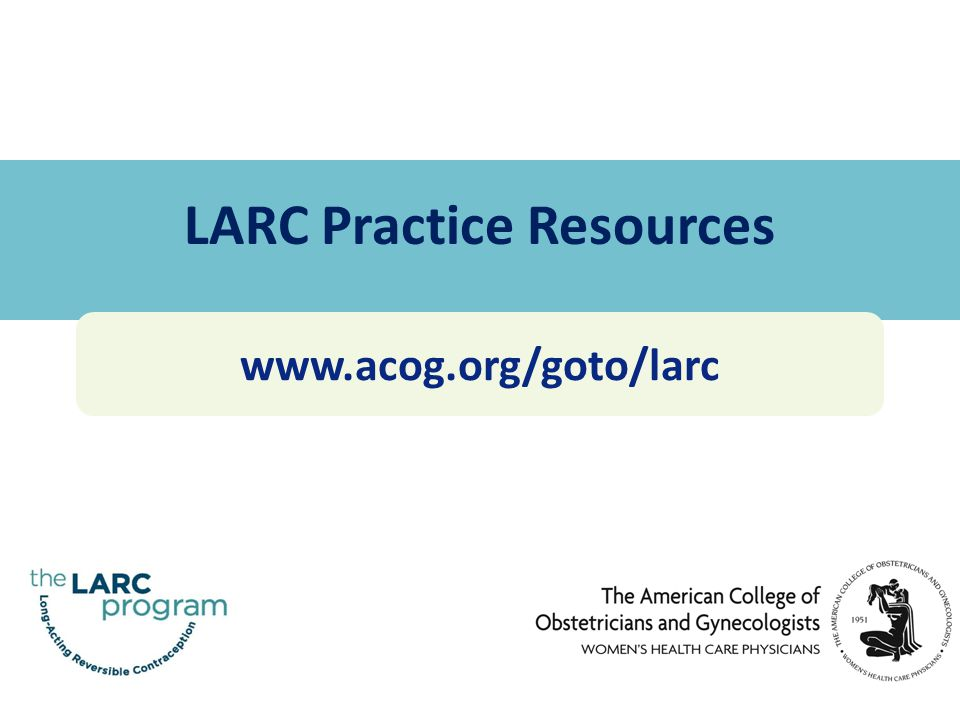 LARC Practice Resources