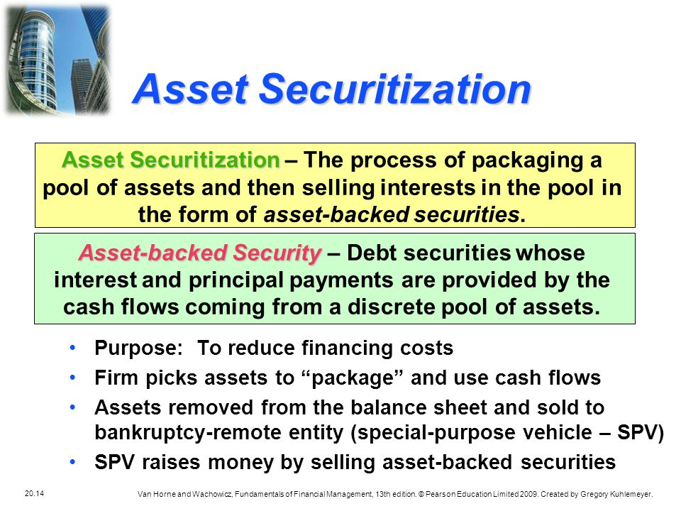 Asset Securitization