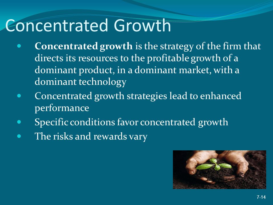 Concentrated Growth