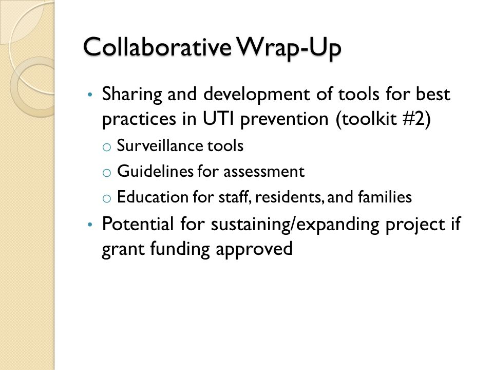 Collaborative Wrap-Up