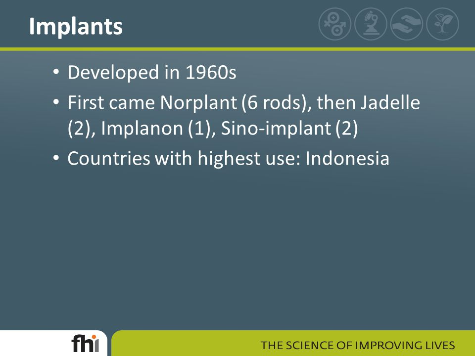 Implants Developed in 1960s