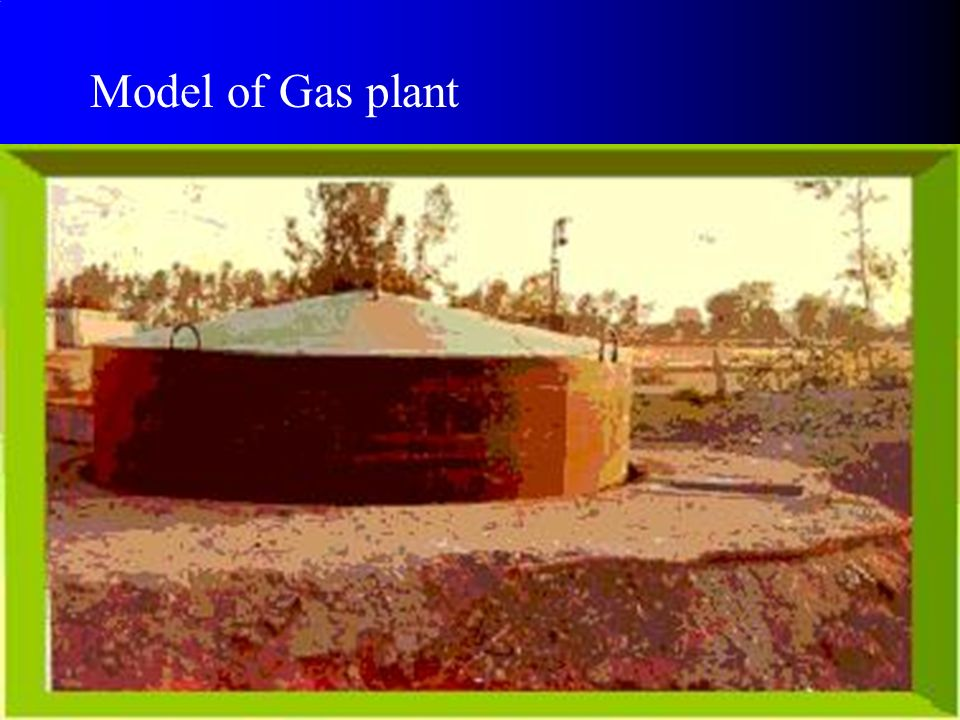 Model of Gas plant