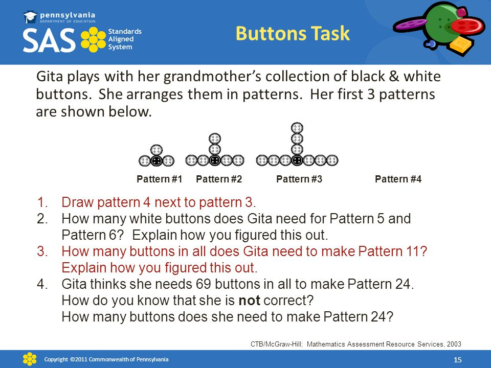 Buttons Task