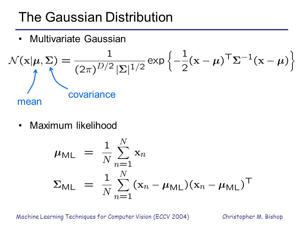 The Gaussian Distribution