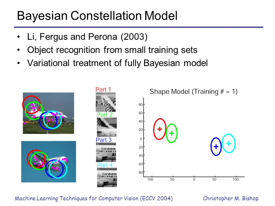 Bayesian Constellation Model