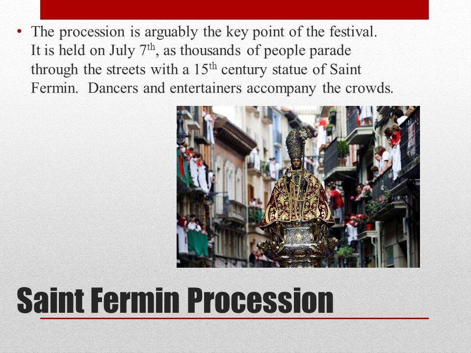 Saint Fermin Procession