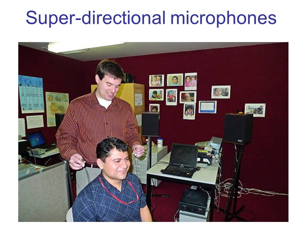 Super-directional microphones
