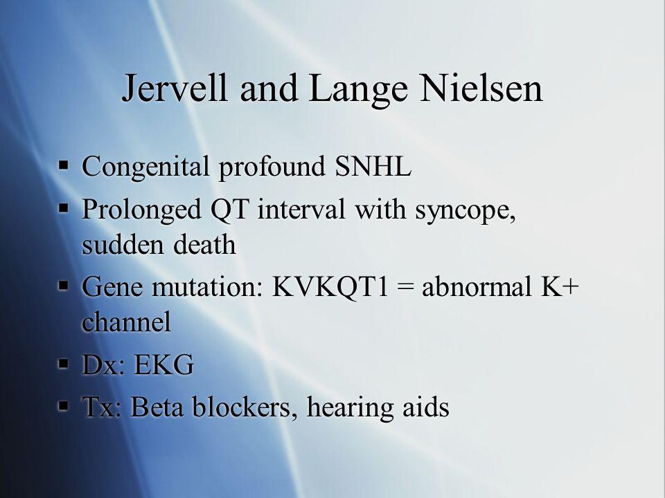 Jervell and Lange Nielsen