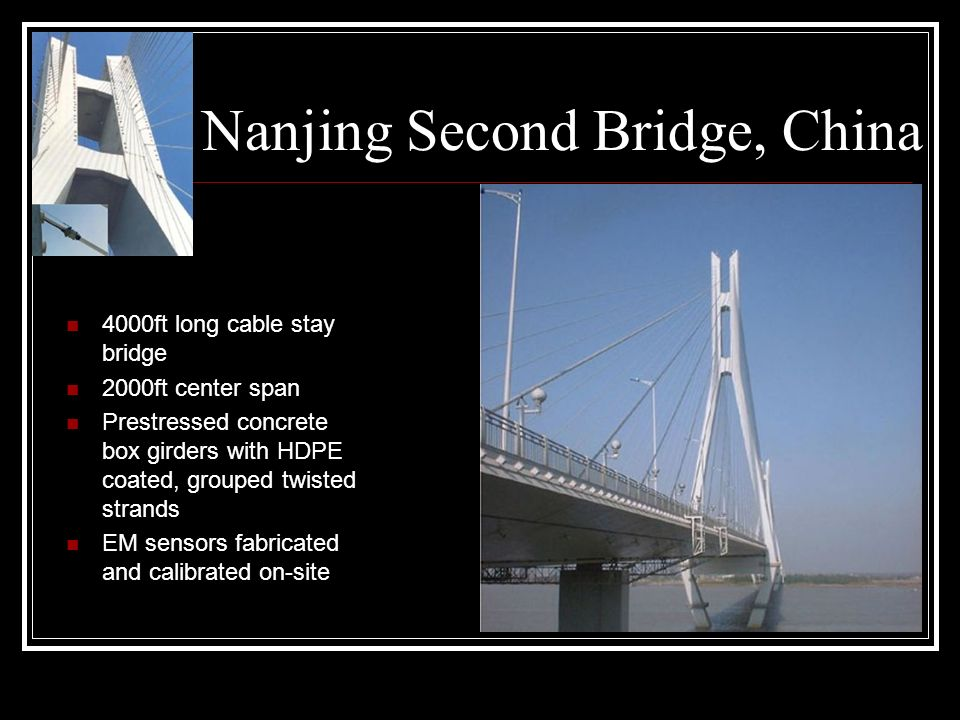 Nanjing Second Bridge, China
