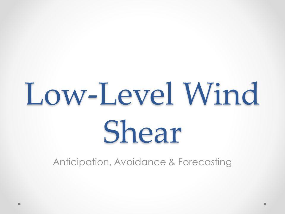 Anticipation, Avoidance & Forecasting