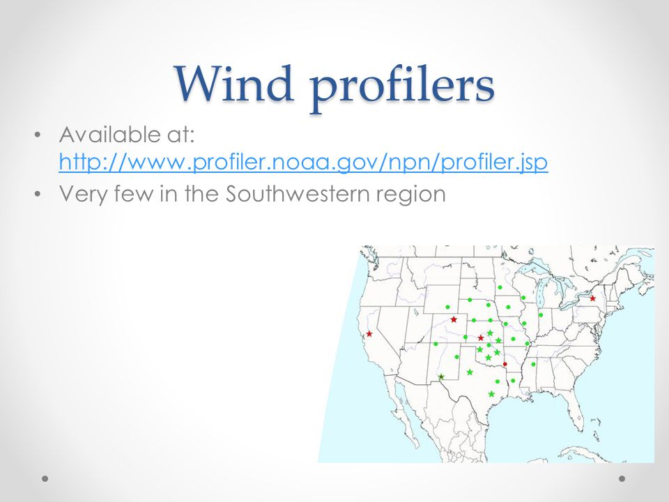 Wind profilers Available at: