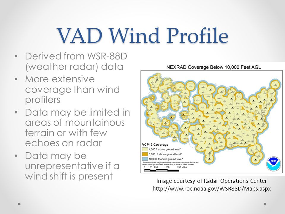 Image courtesy of Radar Operations Center