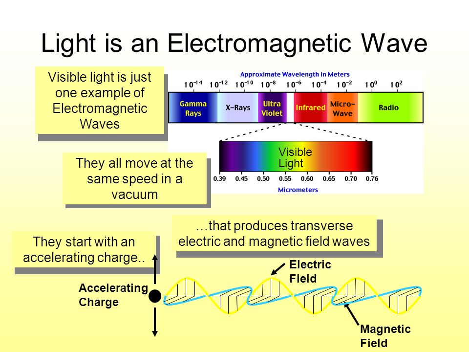 Light is an Electromagnetic Wave