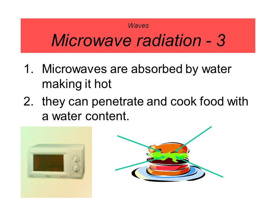 Waves Microwave radiation - 3