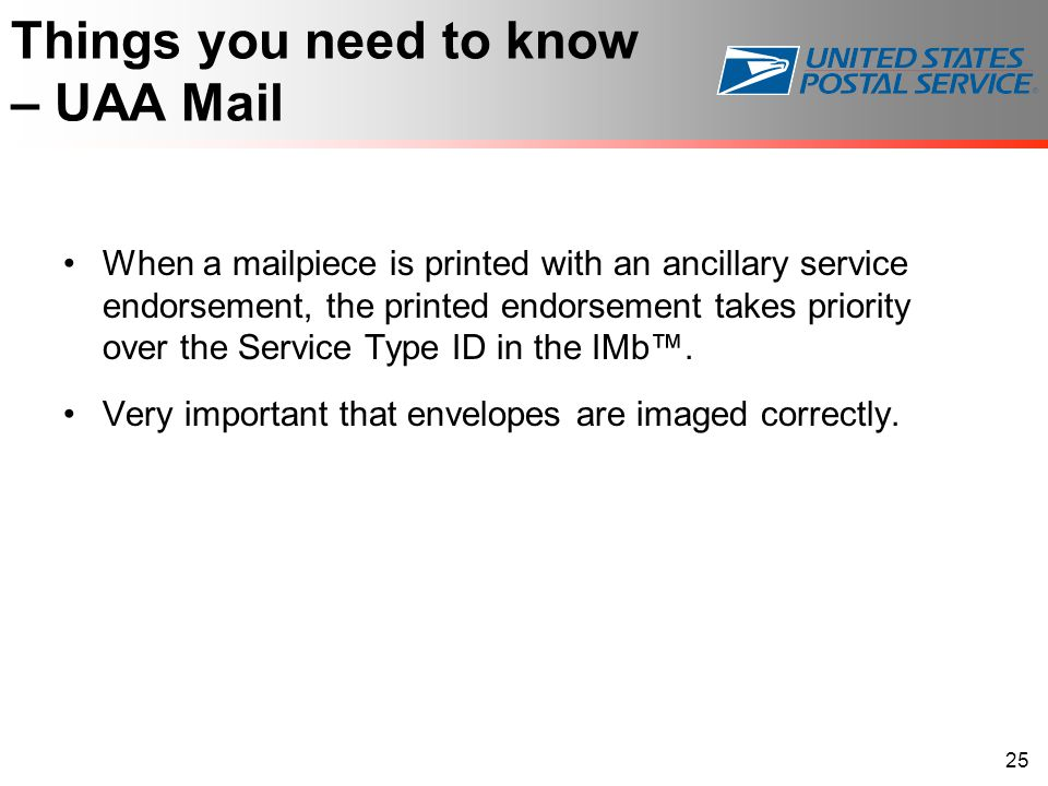 Things you need to know – UAA Mail