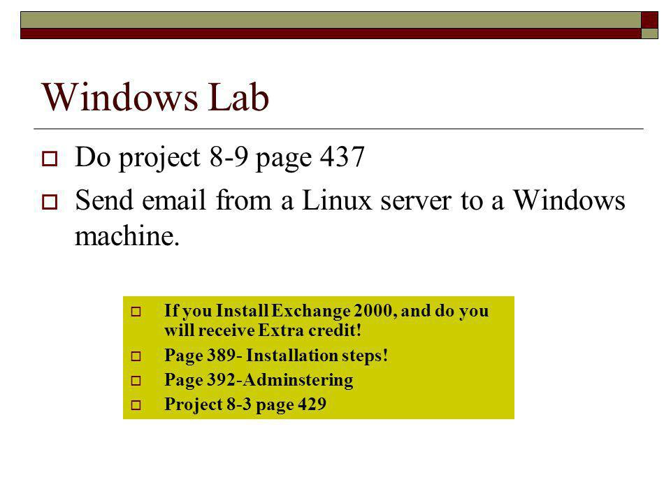 Windows Lab Do project 8-9 page 437