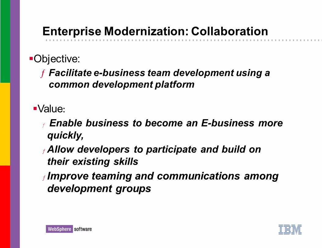 Enterprise Modernization: Collaboration