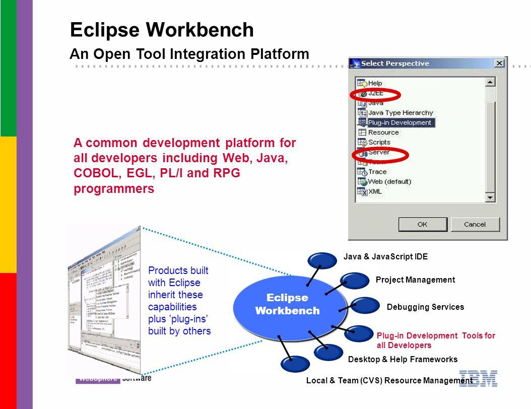 Eclipse Workbench An Open Tool Integration Platform