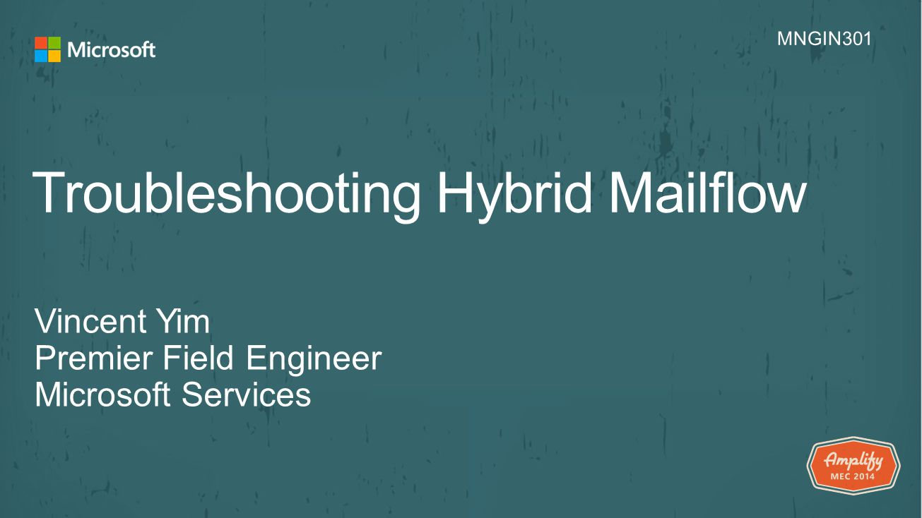 Troubleshooting Hybrid Mailflow