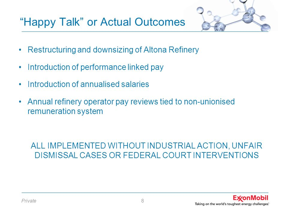 Happy Talk or Actual Outcomes