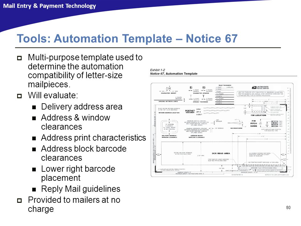 Tools: Automation Template – Notice 67