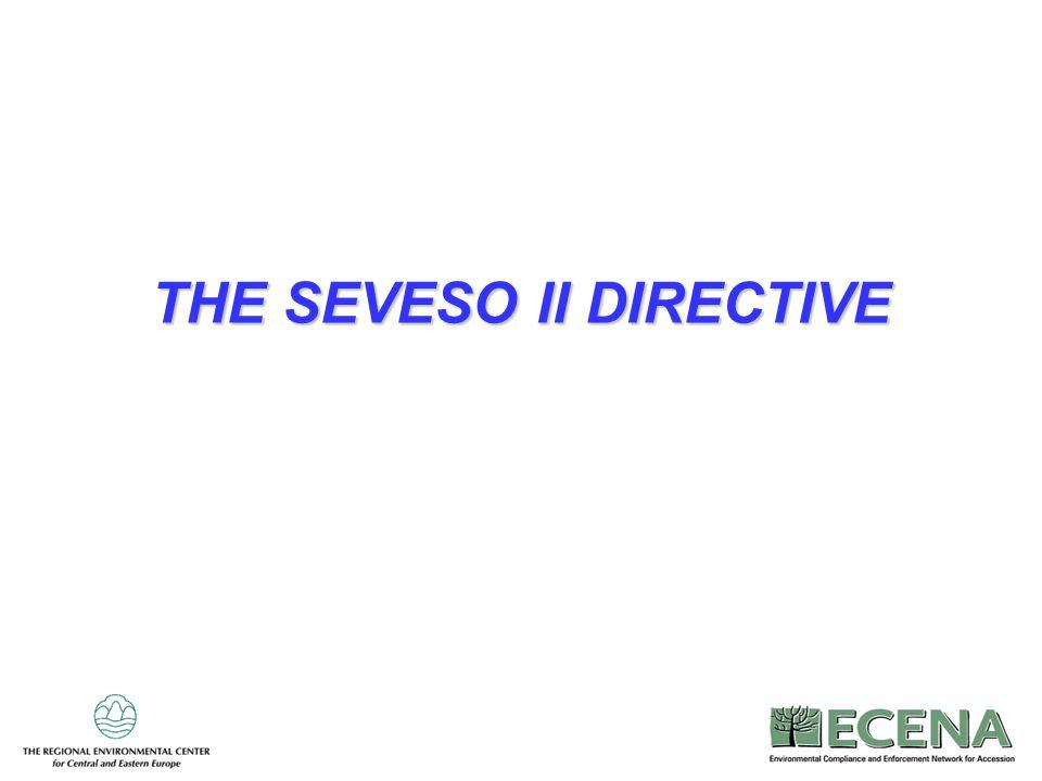 THE SEVESO II DIRECTIVE