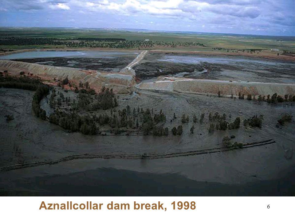 Aznallcollar dam break, 1998