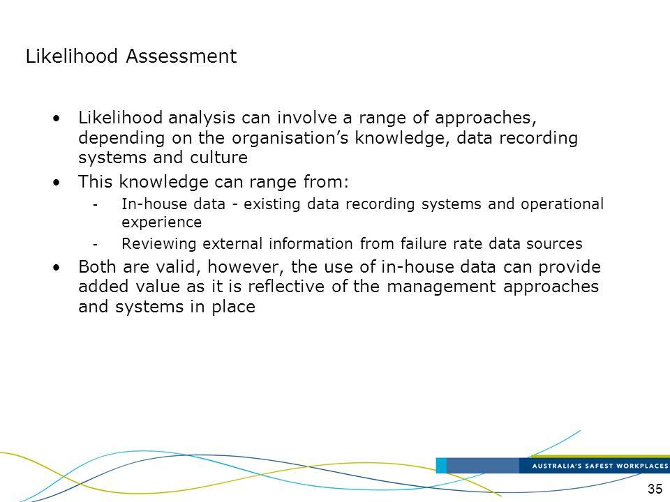Likelihood Assessment
