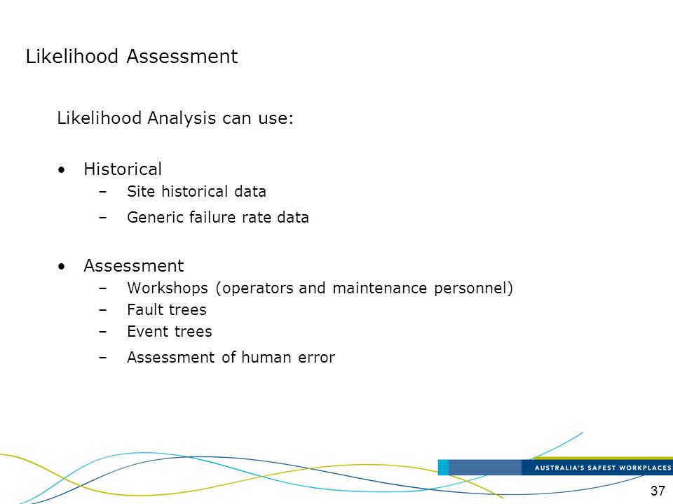 Likelihood Assessment